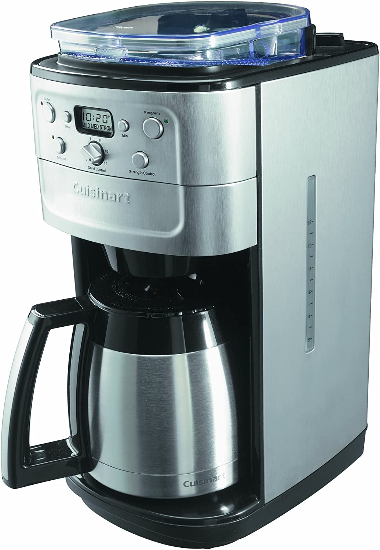 Cuisinart DGB900BCU Cafetera con molinillo de café incorporado ...