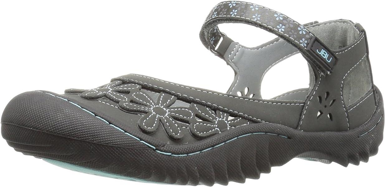 7fa681829dab JBU Women s Wildflower Charcoal Synthetic Casual Shoe - 6 B(M) US