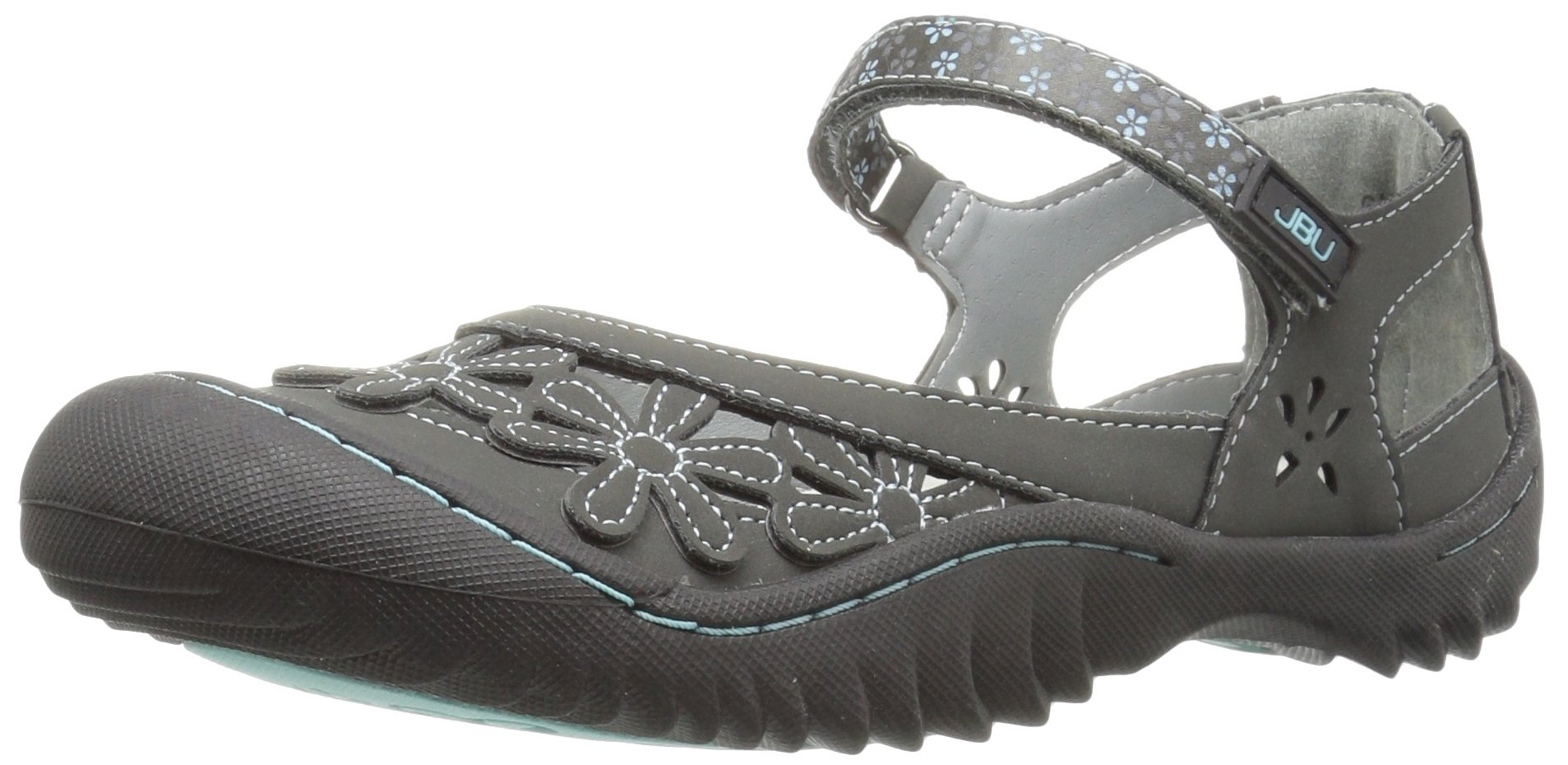 Jambu Jsport Women's Peony Charcoal Synthetic Casual Shoe - 8.5 B(M) US
