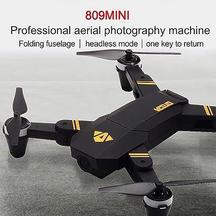 Ballylelly VISUO XS809 2.4G Mini Plegable FPV Selfie Drone RC ...