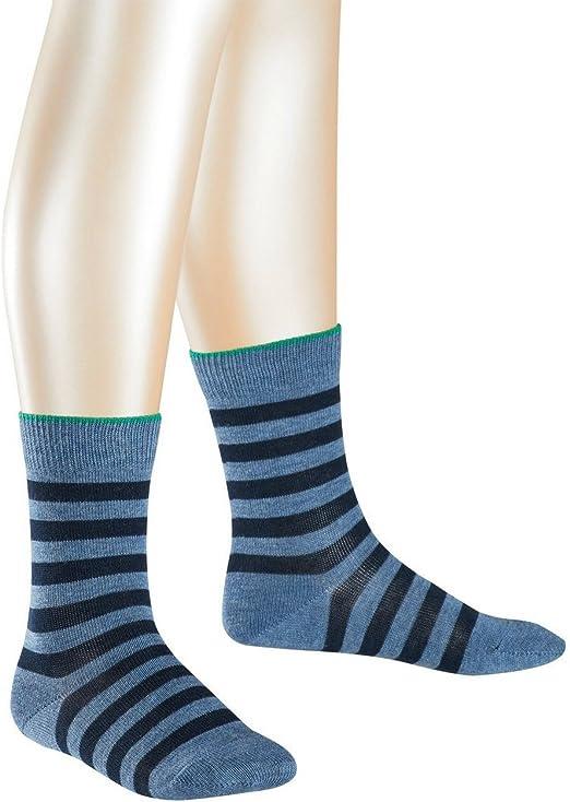 1 Paar 83/% Baumwolle FALKE Kinder Socken Classic Argyle Gr/ö/ße: 35-38 Marine 6121 Blau