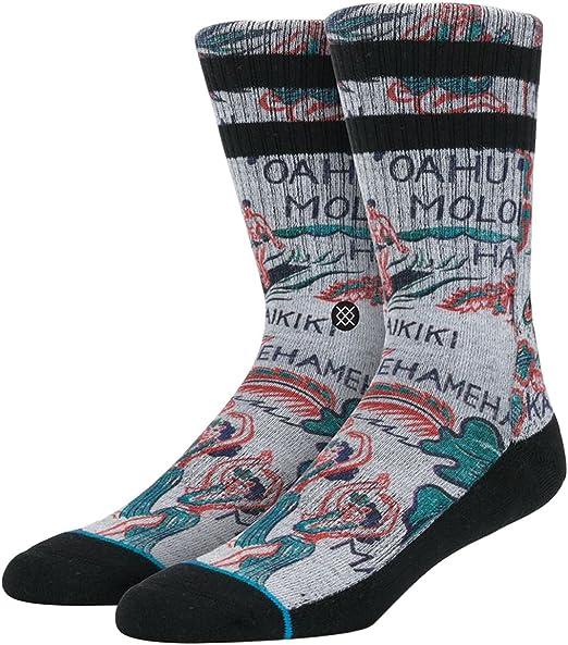 Stance Mens Lei-Lei Socks Large/X-Large Grey