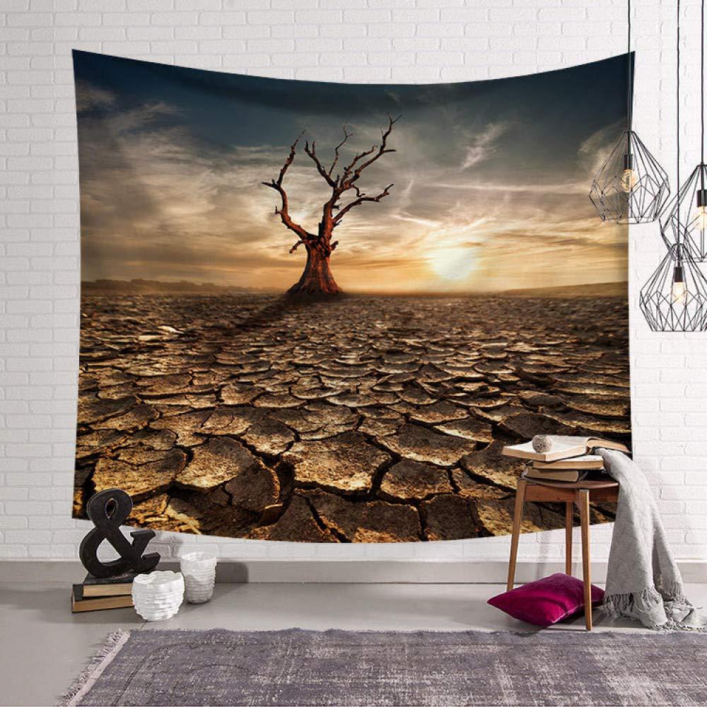 Zuonuoo Psych/éd/élique For/êt Tapisserie Tenture Murale Tapisserie Couverture///Ferme D/écor///Fen/être Tapisserie T/ête de Lit Polyester Yoga Ch/âle 1/_95x73cm