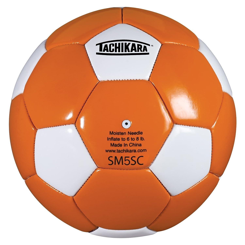 Tachikara SM5SC - Balón de fútbol (Talla 5), Color Azul y Blanco ...