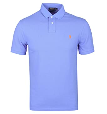 new products 4a650 9f2e7 Ralph Lauren Polo - Blau mit gelbem Reiter - Classic Fit