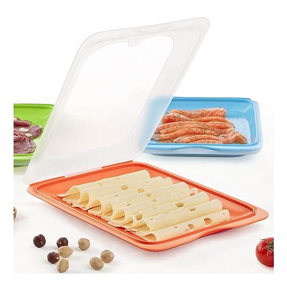 Plasticos Tatay 1180001 - Portaembutidos hermetico y Alimentos ...
