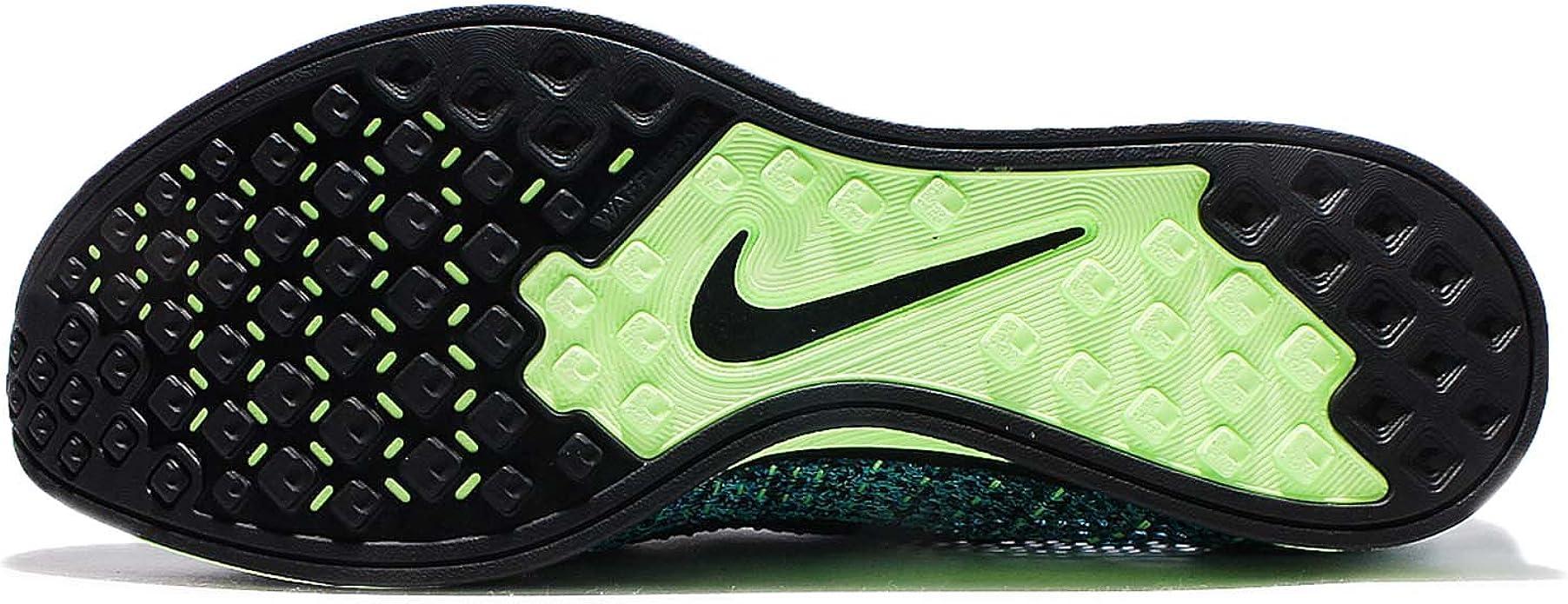 Nike Flyknit Racer, Zapatillas de Running para Niños, Azul (Azul (Blue Lagoon/Black-Polarized Blue), 37 EU: Amazon.es: Zapatos y complementos