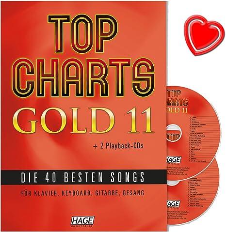 Top Charts Gold 11 – Las 40 mejores canciones para piano, teclado ...