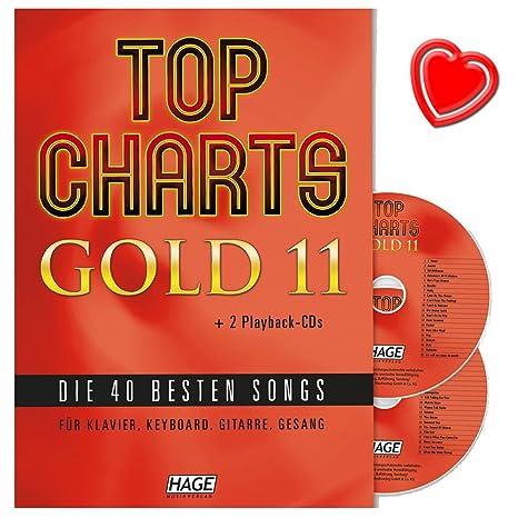 Top Charts Gold 11–Las 40mejores canciones para piano