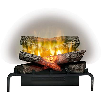 amazon com dimplex revillusion 20 inch electric fireplace log set rh amazon com