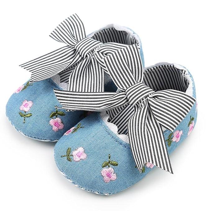 f64fa3b9a7514 Amazon.com: Moonper Embroidery Anti-Slip Casual Sole Soft Shoes ...