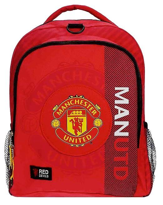 "Manchester United mejores puntuaciones """" original mochila mochila mochila escolar rojo Devils Man"