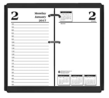 Amazon.com : House of Doolittle 2017 Desk Calendar Refill, Daily ...