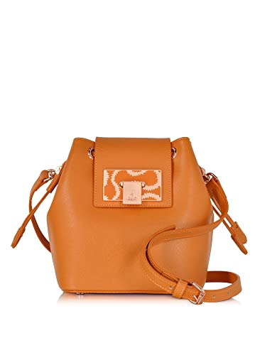 93e4fd511d1 Vivienne Westwood Designer Handbags Orange Opio Saffiano Mini Bucket Bag:  Amazon.co.uk: Shoes & Bags