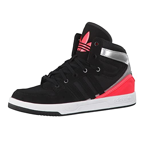brand new 3c08a 1859a adidas Originals Boys Court Attitude K Black and Red Sneakers - 2 UKIndia  (34 EU) Buy Online at Low Prices in India - Amazon.in