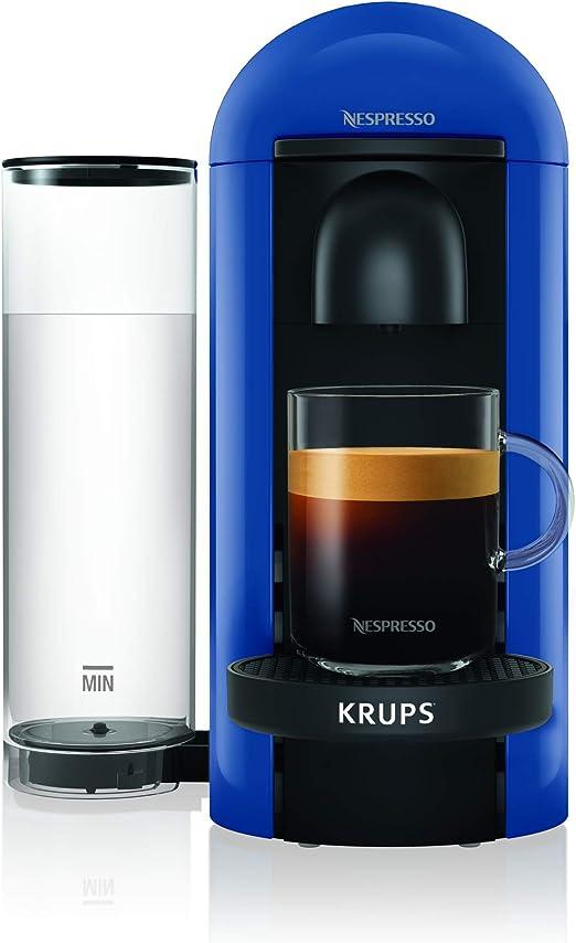 Krups Nespresso YY4228FD Vertuo Plus - Cafetera de Goteo, Color Azul: Amazon.es: Hogar