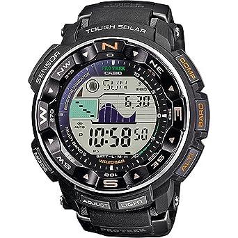 17e3c1dd0a カシオ CASIO PRO TREK プロトレック ソーラー 電波 腕時計 メンズ PRW-2500-1ER ブラック