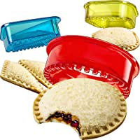 Sandwich Cutter and Sealer - Decruster Sandwich Maker - Cut and Seal - Great for Lunchbox and Bento Box - Boys and Girls…