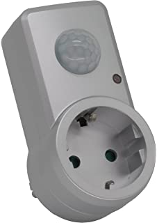 Entre Conector Adaptador Conector con detector de movimiento (120 °, alcance de 9 m