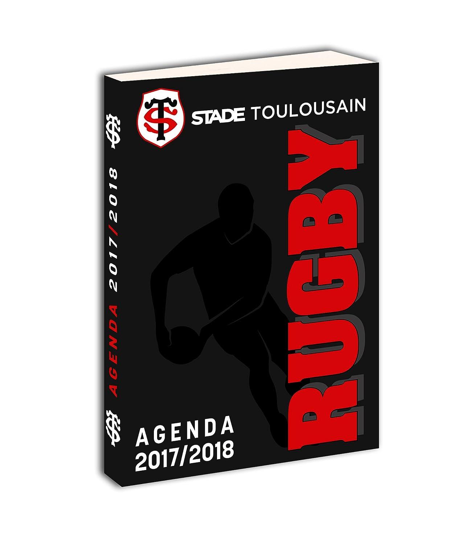 Stade Toulousain 173sto101jup Agenda Scolastica Unisex Bambino, Nero/Rosso