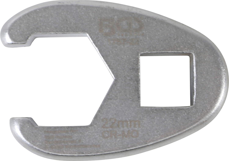 crowfoot BGS 1757-22 | entrada 12,5 mm 1//2 Llave boca hexagonal abierta | 22 mm