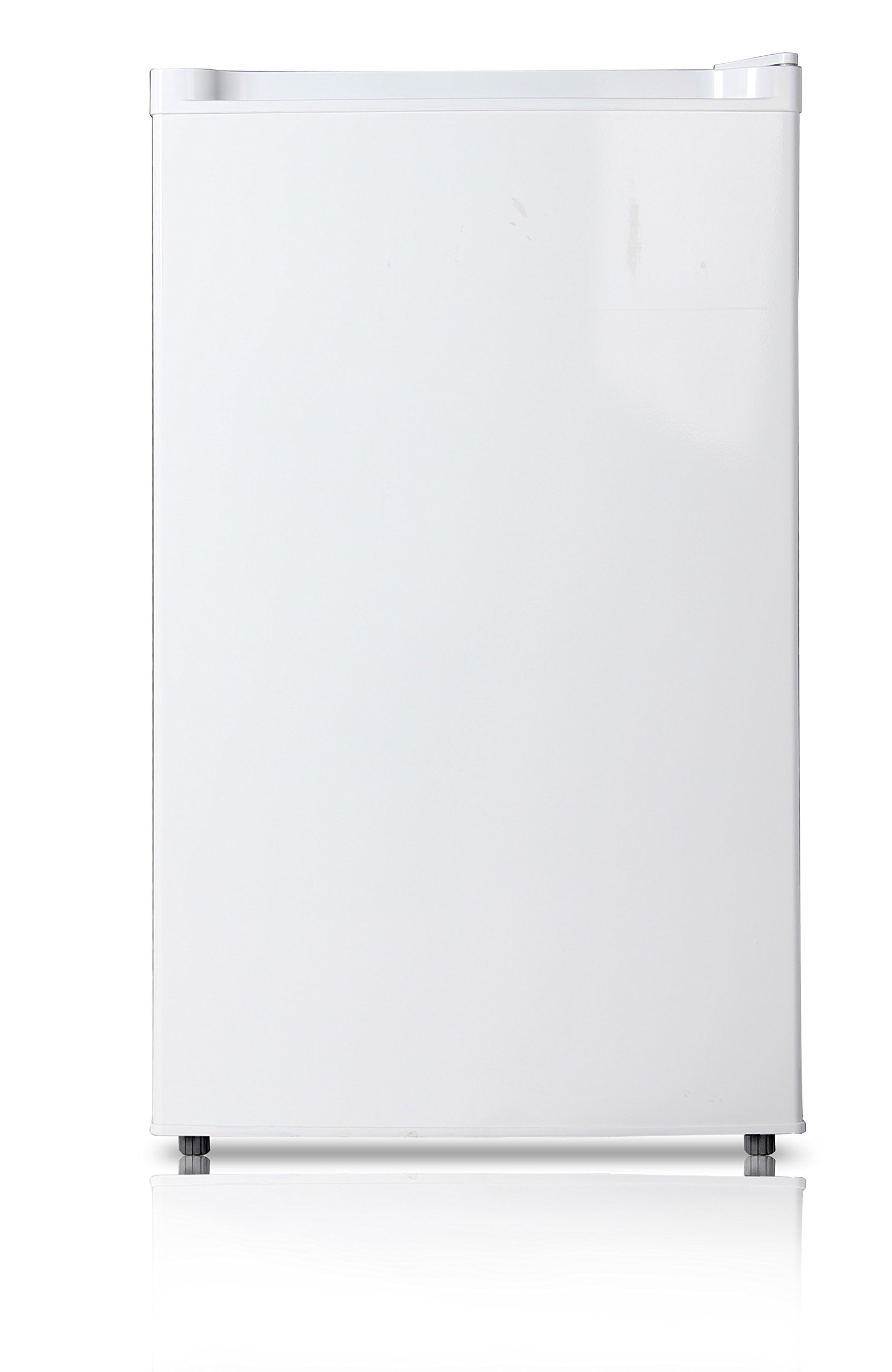 Midea WHS-109FW1 Compact Single Reversible Door Upright Freezer, 3.0 Cubic Feet, White