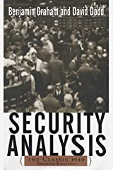 Security Analysis: The Classic 1940 Edition Kindle Edition