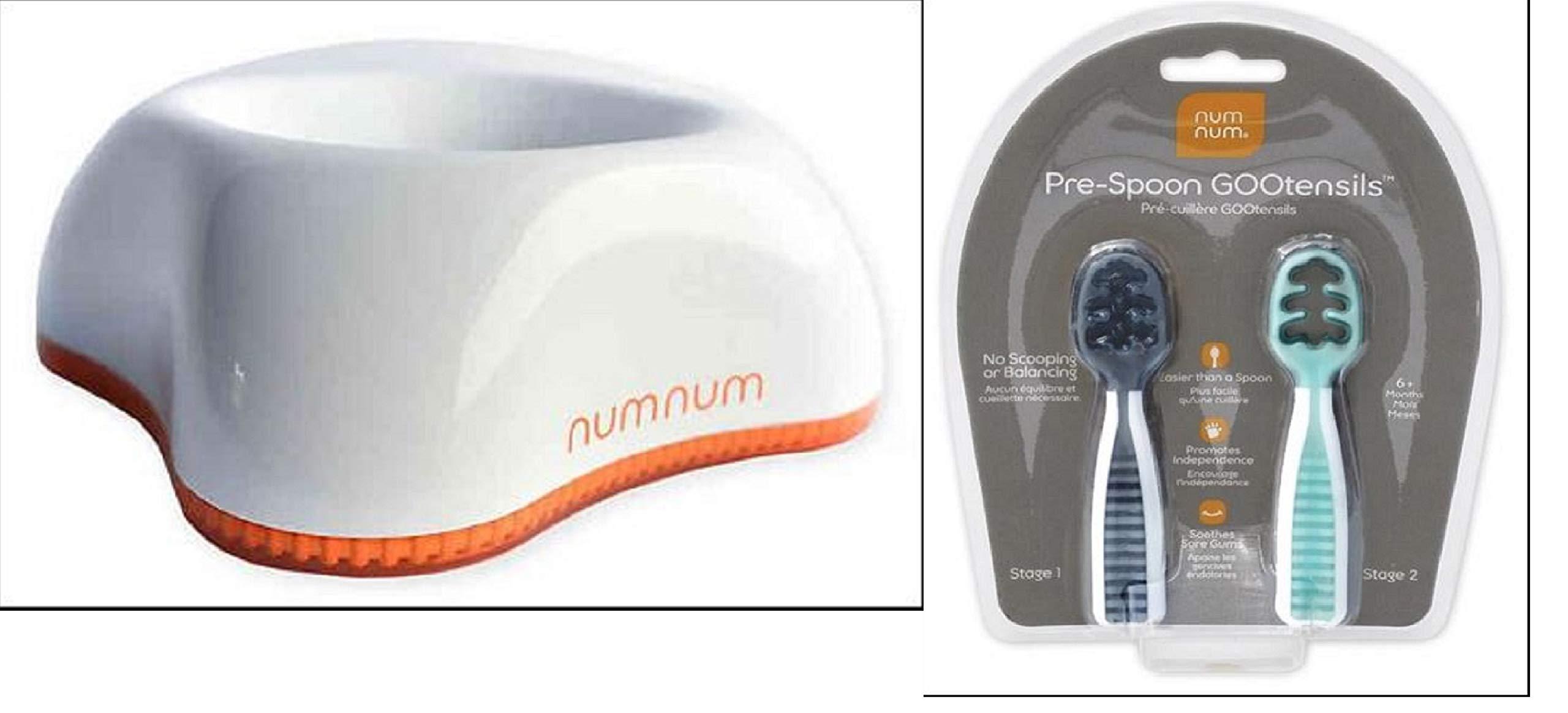 NumNum Beginner Bowl & Pre-Spoon GOOtensils