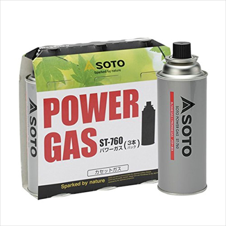 SOTO - パワーガス 3本パック ST-760
