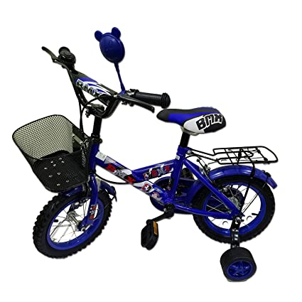 SkyFlag Kids Bicycle - Kids Cycle with Side Wheels for The Age Group of 3  to 6 Years - Robust Kid Bike for Boys and Girls
