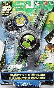 OUYAWEI BEN10 Style Kids Projector Watch + Worldwideing