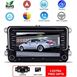 Amazon.com: MCWAUTO for VW 9 Inch Android 9.0 Car Radio ...