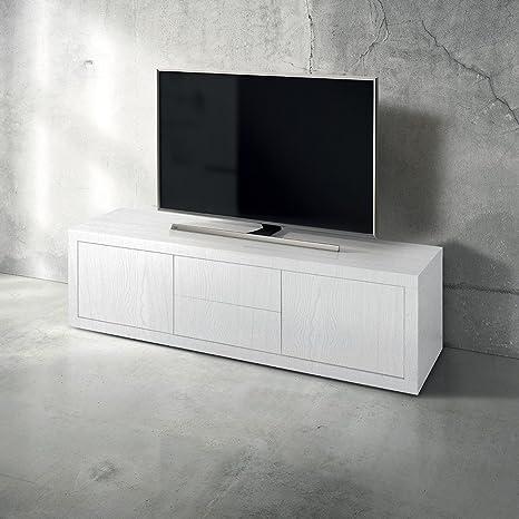 Mobile Tv Porta Tv Cm 170 X 45 X 50 H Bianco Per Interno Casa ...