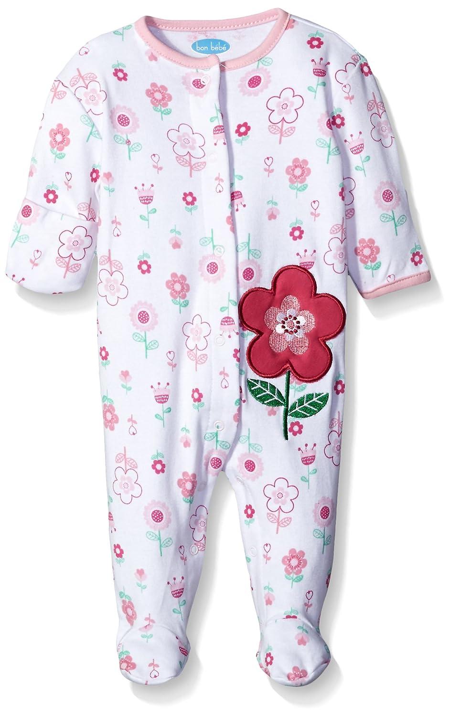 【新品本物】 Bon Bebe SLEEPWEAR ベビーガールズ - B06Y6DR66R フラワー ピンク フラワー ベビー ベビー|ピンク SLEEPWEAR フラワー|0 - 3 Months, あかりや:e2e5647f --- svecha37.ru
