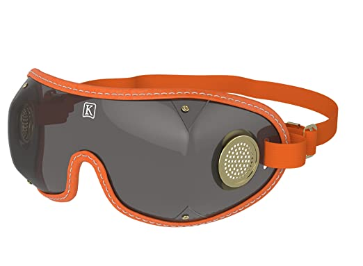 KROOPS Brass Vent Original National Hunt Point To Point Flat Race /& Work Jockey Goggles With Free Pouch