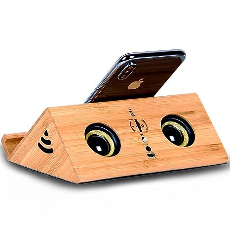 Review Wooden Bluetooth Speaker Handmade