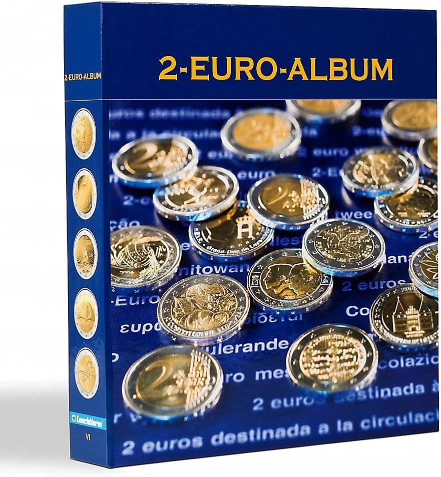 Álbum preimpreso NUMIS p. monedas conmemorat. 2€ de todos países del euro, fr/ingl, tomo 6: Amazon.es: Juguetes y juegos