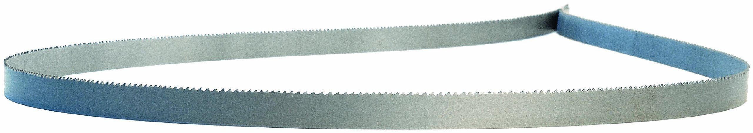 Lenox Diemaster 2 Band Saw Blade, Bimetal, Regular Tooth, Wavy Set, Positive Rake, 64.5'' Length, 1/2'' Width, 0.025'' Thick, 14-18 TPI