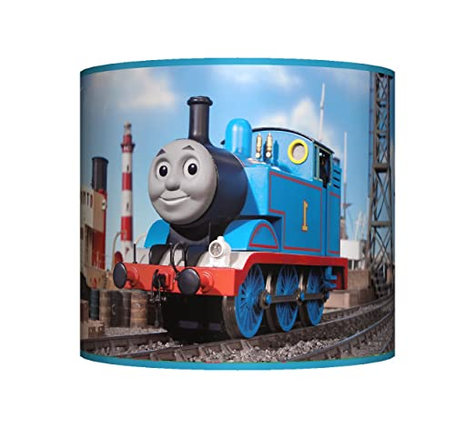 Thomas the tank engine ceiling lampshade 10 drum boys bedroom thomas the tank engine ceiling lampshade 10quot drum boys bedroom lamp shade aloadofball Gallery