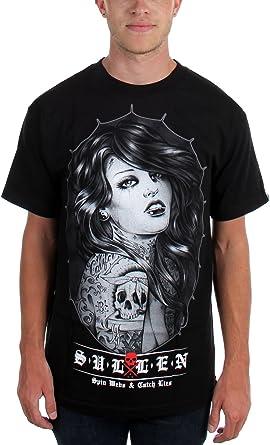 Sullen - Camiseta - para hombre negro Medium: Amazon.es: Ropa y ...