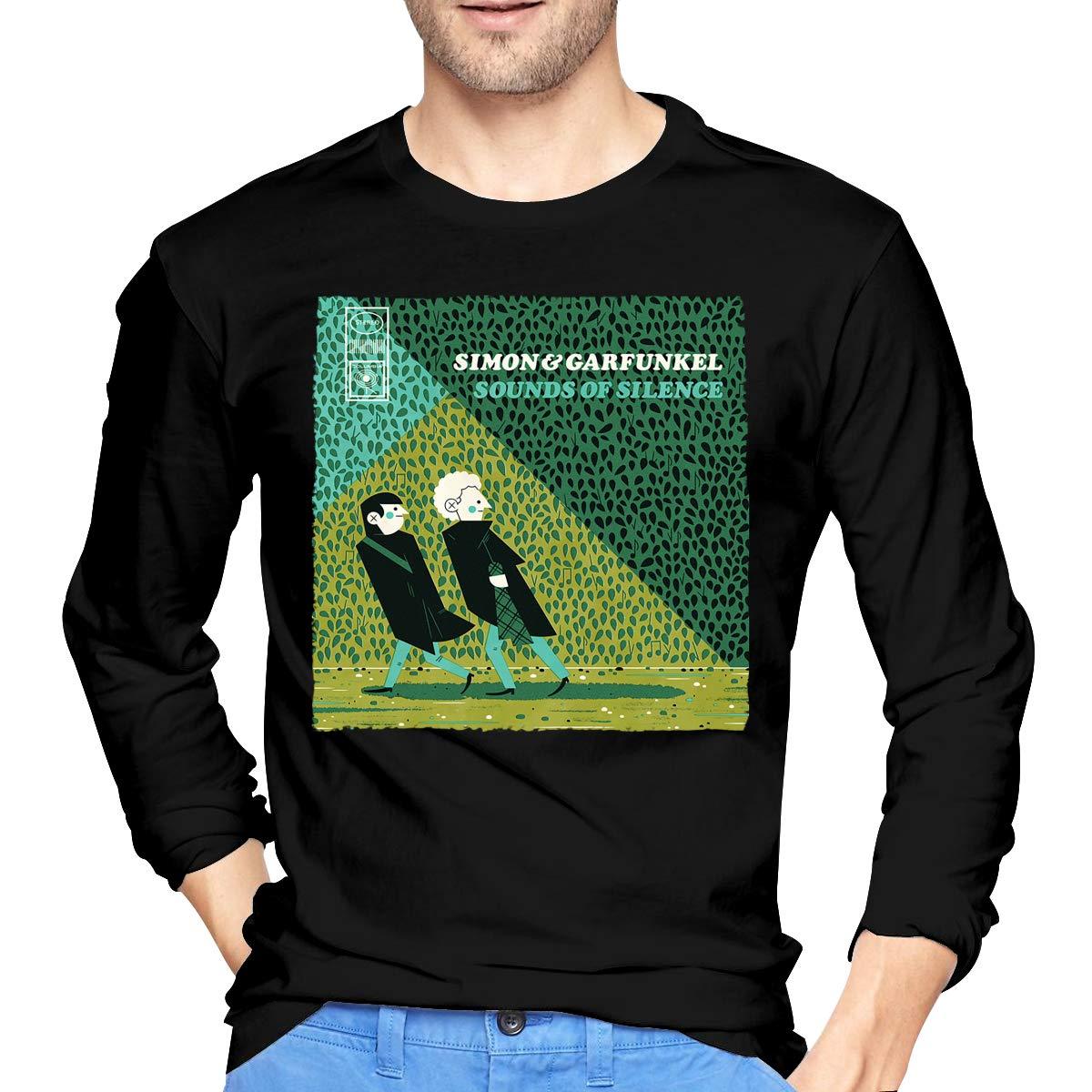 Cool Simon With Garfunkel Black Shirts