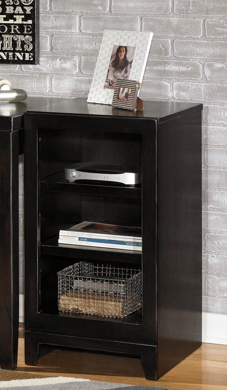 Ashley Furniture Signature Design - Trishelle Home Office Open Narrow Base Furniture - 3 Shelves - Contemporary - Dark Brown