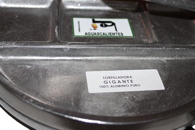 Amazon.com: Oro Import Huge Giant Tortilla Press Burrito Maker Cast Aluminum Tortilladora: Kitchen & Dining