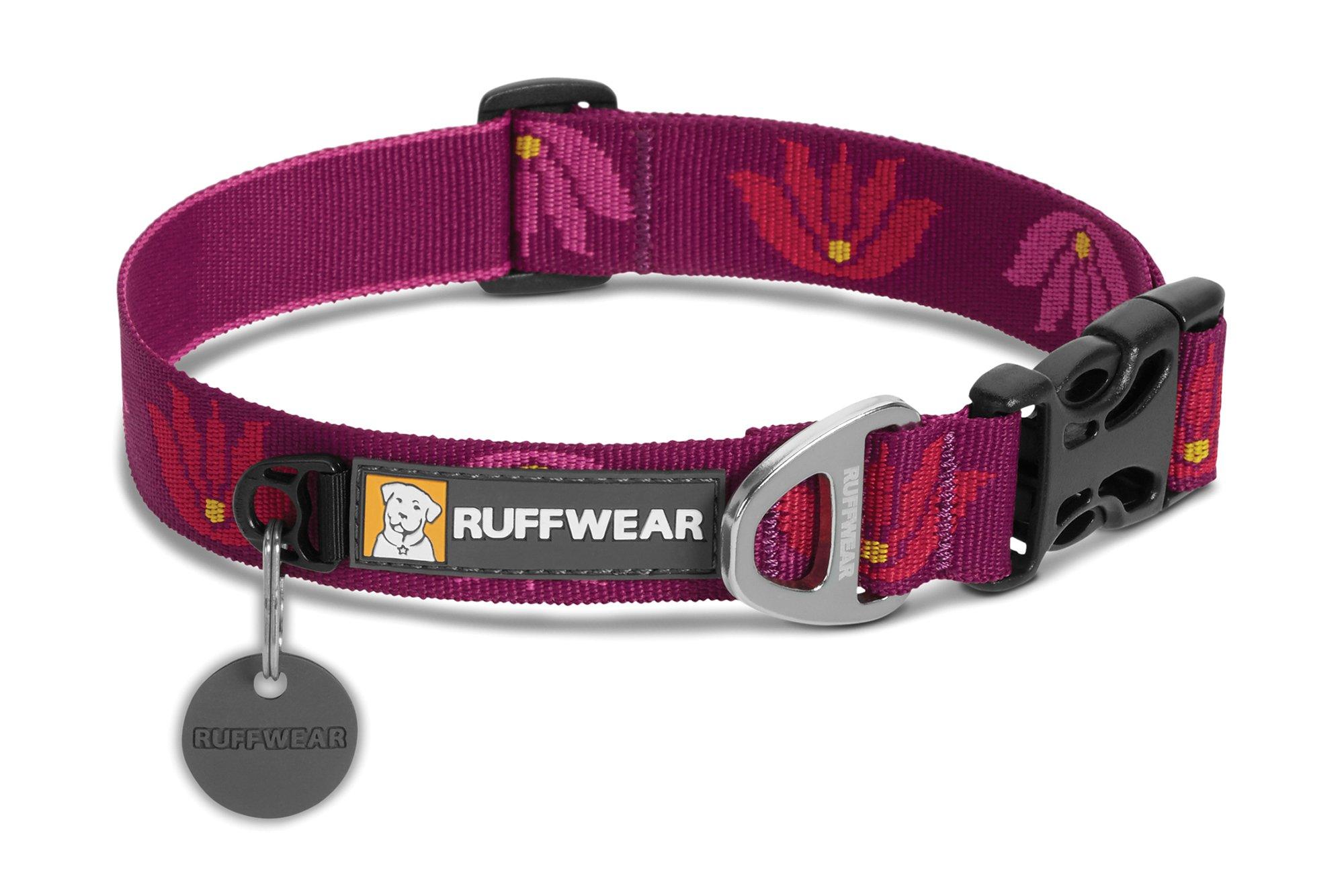 RUFFWEAR - Hoopie Dog Collar, Lotus, Medium