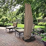 Island Umbrella NU5512 All-Weather Protective Umbrella Cover-Fits 10' to 13' Cantilever Umbrellas