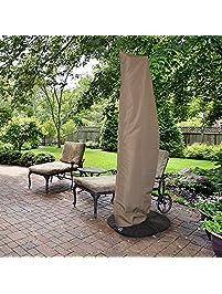 Island Umbrella NU5512 All Weather Protective Umbrella Cover Fits 10u0027 To 13u0027