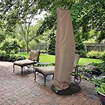 Island Umbrella NU5512 All-Weather Protective Umbrella Cover-Fits 10' To 13' Cantilever Umbrellas