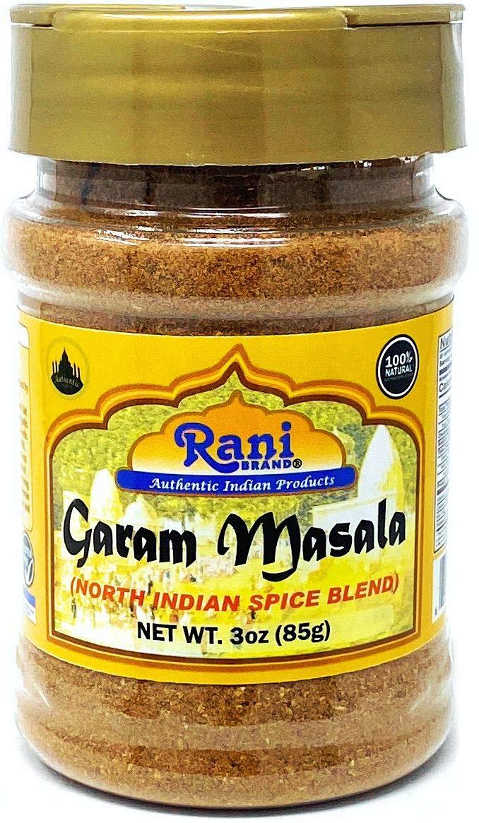 Rani Garam Masala Indian 11-Spice Blend 3oz (85g) PET Jar ~ All Natural, Salt-Free | Vegan | No Colors | Gluten Friendly | NON-GMO | Indian Origin