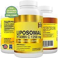 Pure Liposomal Vitamin C Capsules Supplement -1250 mg High Absorption Ascorbic Acid, Natural Healthy Immune System…