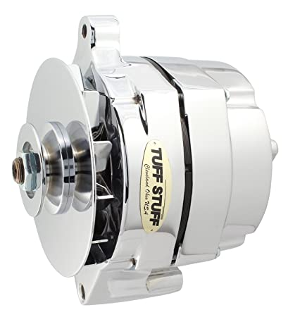 Ford 1 Wire Alternator | Amazon Com Tuff Stuff 7068rd Chrome 1 Wire 1 Groove Pulley